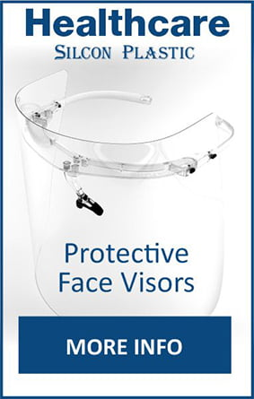 Healthcare by Silcon Plastic - Universal Protective Face Visors